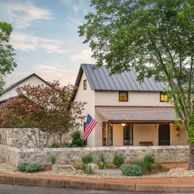 Richard Laughlin Home by Blake Mistich - Fredericksburg, Texas