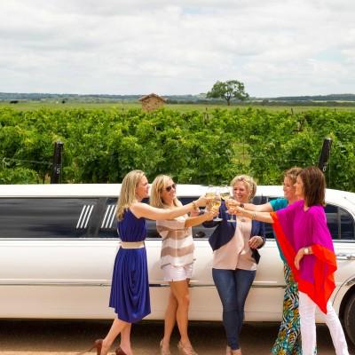 Bachelorette Party at Grape Creek Vineyards - Fredericksburg, Texas