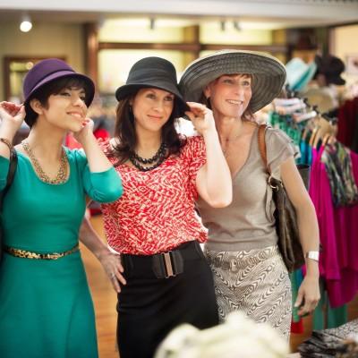 Ladies Shopping in Fredericksburg, Texas